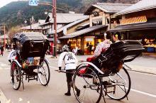 【京都·岚山】可以乘坐岚电直达,乘坐岚电也是一种不错的体验,尤其要是赶上樱花纷飞的季节。