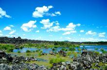 赫赫有名的五大连池 我怎么数也没数出五个池子来呀? 五大连池火山地质景观 中俄边境小城 隶属黑龙江省
