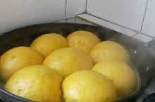 自家蒸的,纯手工南瓜馍馍出锅了。