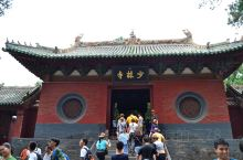 登封少林寺坐落在嵩山脚下,占地面积不大,只有三进院子,与想象中差距较大,藏经阁也没有扫地僧,倒是塔林