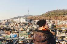 韩国露台咖啡店打卡首选 首尔全景一次看个够 店名:Graddhyllan 地址:梨泰院附近,在首尔后
