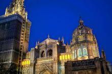 托莱多 是一座至今仍保留着中世纪风貌的古城, 哥特式托莱多大教堂的是西班牙排名第二的大教堂。托莱多这