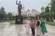 越南越美20190428-0504day6:芽庄-胡志明市 胡志明市粉红教堂 中心邮局 市政厅 范五