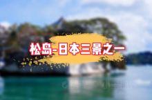 """被誉为""""日本三景""""之一的松岛,是宫城县必去的观光地之一。松岛湾内外分布着大大小小260个岛屿,日本著"""