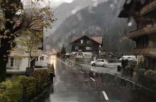 在去瑞士少女峰的路上…