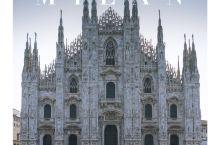 米兰 欧洲最重要的哥特教堂之一·米兰大教堂外观&内部 . 参观教堂共分个部分:教堂外观、登顶、教堂内