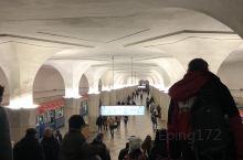 感受了一下莫斯科的地下铁。(80 年前就有地铁, 广州才20年)点赞/遇到二个路人都很热心向导!