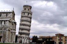 到意大利比萨看斜塔。