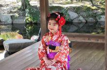 岡山的后乐园和水户的偕乐园、金泽的兼六园合称日本的三大名园。后乐园范围不大,吸引了不少游人,我已经三