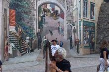 魁北克一年四季壁画