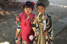 唐津市区 頗适合慢行  沿著步道 走訪舊庭邸  唐津神社中 邂逅穿著傳統和服 瀟灑的5歲的男童 和超