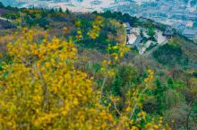 骊山是临潼的赏秋名所,这次前来适逢骊山周侧的草木渐黄,山间翠秀之中盘织着红黄颜色的植被,美如锦绣,甚