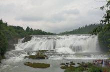 黄果树是夏日里的一抹清凉!贵州黄果树瀑布是亚洲第一,世界排名第三,非常宏伟壮观,稍微临近一些身上就都