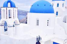 世界三大蓝色之城中最浪漫的一座——希腊的圣托里尼,我走过的世界三大蓝色之城中的最后一座,比焦特布尔更