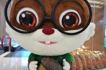 三只松鼠在梅溪湖步步高开店了!!这个玩偶好可爱