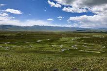 甘南自驾行D4 - 阿万仓湿地  往阿万仓的路上草原开始变得平坦,比多山的夏河视线更加辽阔,可以直到