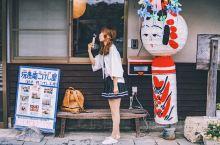 在日本 • 仙台 解锁了一项新技能 你可以随意走进一家卖小芥子的店铺 亲手彩绘日本传统木偶娃娃小芥子