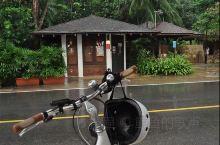 雨中的圣淘沙