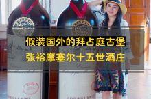 可以假装在国外的宁夏拜占庭古堡酒庄! 宁夏最值得一去的酒庄榜首肯定是张裕摩塞尔十五世酒庄。2018中