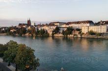 美丽的瑞士莱茵河畔