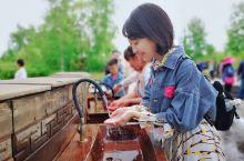 【北方有神泉,佳人求饮之】黑龙江省五大连池风景区的北饮泉名誉中外,不仅因为壮观的熔岩地貌、雅趣的古典