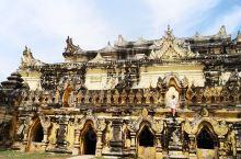 马哈昂美寺,是我们进入因瓦古城的第1站,第一眼看过去还是感觉比较宏伟而震撼的古迹,因为总的说来缅甸这