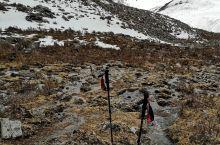 莫斯卡村 党岭村 初春融雪 山顶附近有大群的岩羊出没 一定要注意远离土拨鼠 因为它们也叫旱獭 是鼠疫