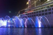 深圳南山蛇口海上世界音乐喷泉!