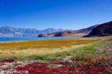 #班公措,大地的调色板#  西藏有纳木措,西藏有羊卓雍措,西藏有拉昂措,一路往西,一措再措,在西藏最
