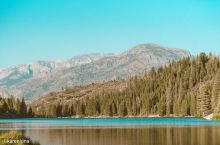 发现一处美国当地人休息度假的隐秘湖泊  如果说美国红杉国家公园特别适合徒步,那么位于国王峡谷国家公