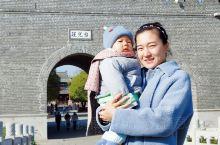 第一次带着老婆孩子,自驾去台儿庄古城,说心里话,古城白天风景一般,晚上环境比较好,去的第一天风比较大