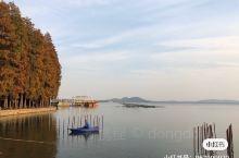 武汉秋天的东湖美景尽收眼底