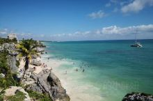 14世纪玛雅文明的重要遗迹加勒比海沿岸的——图伦。当年玛雅人把图伦盖在滨海悬崖峭壁旁,地点就在尤卡坦