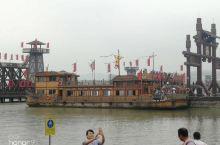 拍摄三国的战船