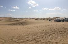 响沙湾旅游区,真的是大漠孤烟直,长河落日圆,很美