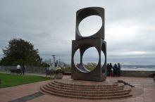 西雅图     ———美国 在山顶公园,观城市全景………@