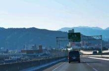 很快,我们的车,又赶到了日本, 广岛·广岛县  ,高速公路区域段!