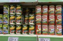苏比克超市的肉罐头,超便宜