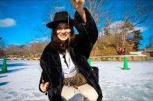 """大沼国定公园:冰雪之上的""""坐禅""""   日本,函馆  大沼国定公园是日本的新三景之一(大沼公园、三保松"""