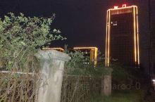泗门镇最高楼的灯光