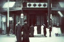 """跟""""摄友圈""""组织去向往已久的松江影视乐园玩,非常兴奋,正巧遇到""""逆行者""""电视拍摄剧组在拍摄,巧遇王志"""