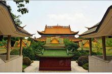 东方文化园,景色美丽的大观园 左邻湘湖,右邻鱼浦,田园村落,莺飞草长,浅山碧水,风光秀丽。 【景点攻