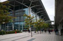 一个三国交界的城市巴塞尔(一)——不大的机场和长长的维京接机车队。