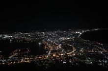 函馆山夜景,很一般