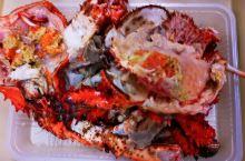 """钏路·北海道  在北海道,钏路和商市场,经店老板推荐和打折,我们买了,当地当季有名稀少""""花咲蟹""""!"""
