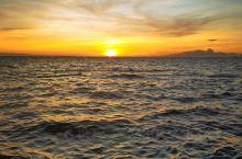 帕塞  海边 日落  很美!
