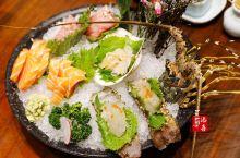 壹期壹会,我想与你多期多会!  刺身拼盘绝对的惊艳,三文鱼、金枪鱼、波士顿龙虾;鱼