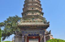 【临汾广胜寺飞虹塔】参观临汾的广胜寺。广胜寺是86版《西游记》的取景地,其中上寺的飞虹塔建成于嘉靖六