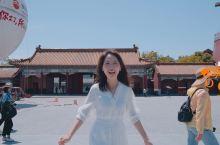 这里应该是中国最容易遇到明星的景区了,横店影视城明清宫苑  明清宫苑是以北京故宫为模板1:1复制,参