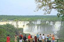 伊瓜苏瀑布的一眼望三国,真的是非常好的观景点,。